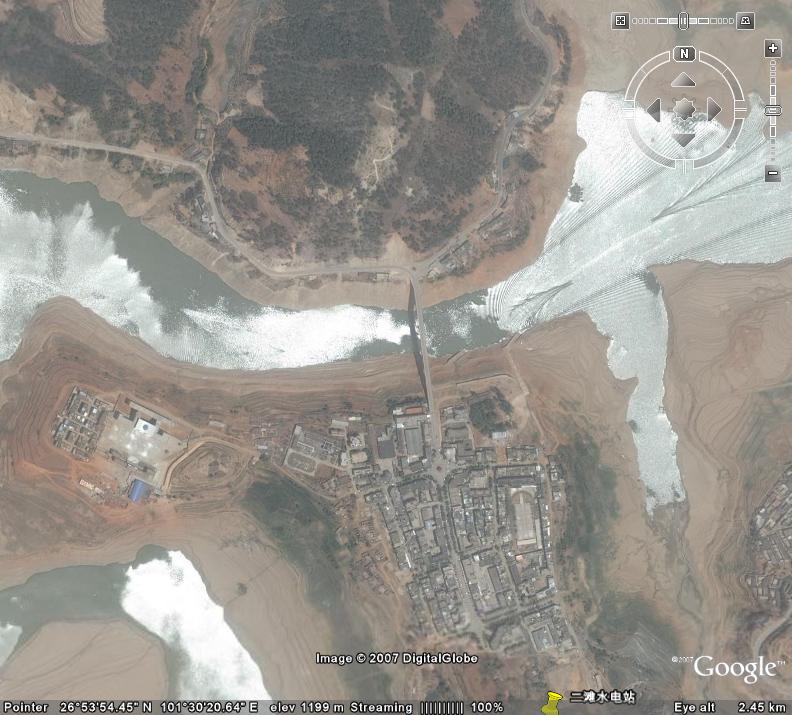 Panzhihua China  city images : Ertan Hydropower Plant, Yalong River, China