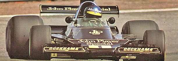 Ronnie Peterson - Lotus 76