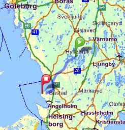torekov karta Alebo Pensionat   Leisure & Activities   Day trips   Hallands  torekov karta