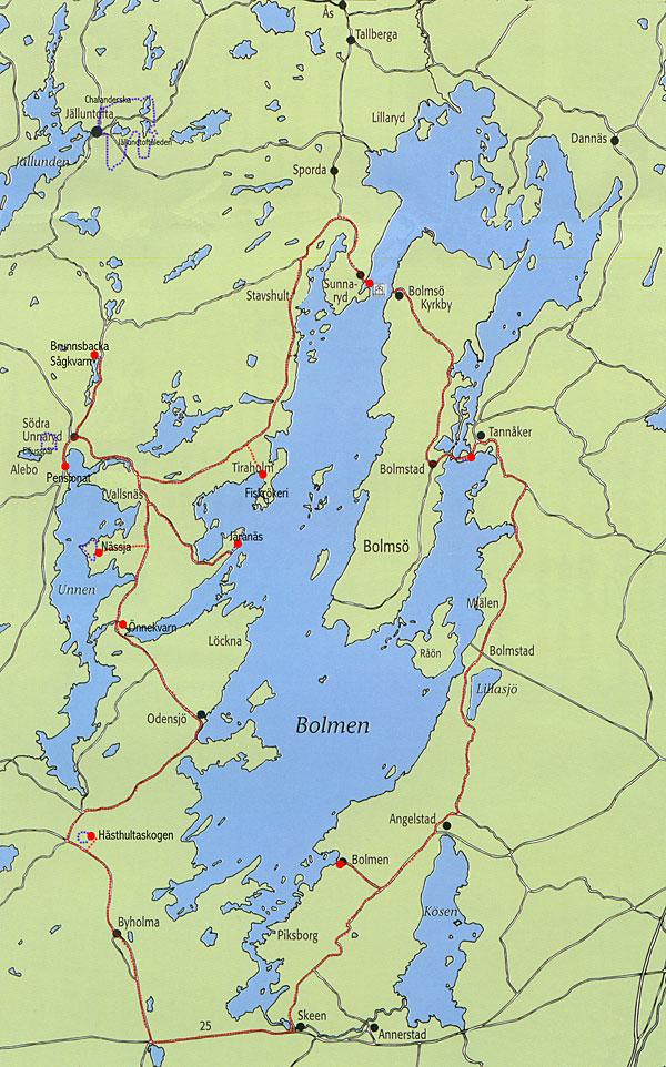 Alebo Pensionat Leisure Activities Day Trips Round Lake Bolmen